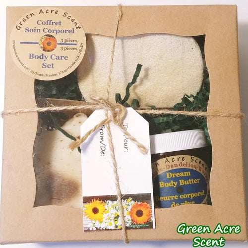 Body Care Set - Green Acre Scent | Botanical Skincare Products