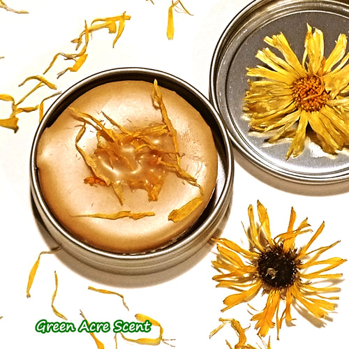 Calendula Lotion Bar | Green Acre Scent | Botanical Skincare Products