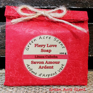 Fiery Love Soap