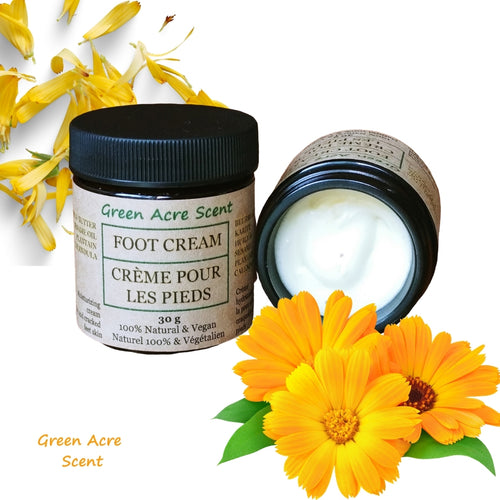 Foot Cream | Green Acre Scent | Handmade in Canada