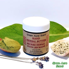 Hand Herbal Butter - Green Acre Scent | Handmade Botanical Skincare Products