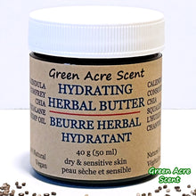 Hydrating Herbal Butter - Green Acre Scent | Botanical Skincare Products