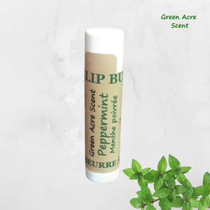 Lip Butter - Peppermint | Green Acre Scent | Handmade in Canada