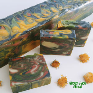 Nature's Joy Soap | Green Acre Scent | Botanical Skincare Products