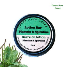Lotion Bar - Plantain & Spirulina