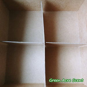 Set-Custom Gift Box (Free) - Green Acre Scent | Botanical Skincare Products