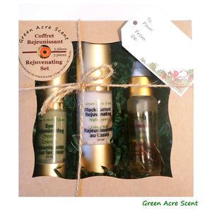 Set Rejuvenating | Green Acre Scent | botanical Skincare Products