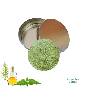 Shampooing Solide Clarifiant - Étain | Green Acre Scent