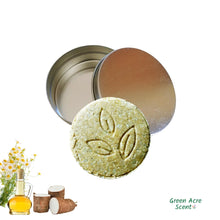 Shampooing Revitalisant Solide - Étain | Green Acre Scent