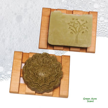 Maple Wood Soap Dish | Green Acre Scent | Handmade in Canada