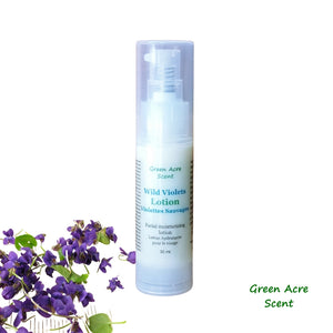 Wild Violets Lotion | Green Acre Scent | Handmade in Canada