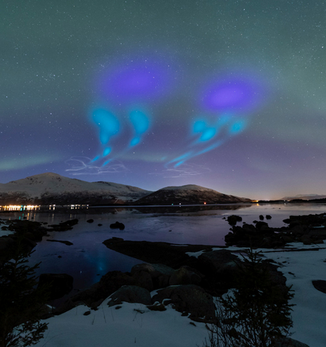 NASA's Project AZURE Produces an Alien Invasion Aurora