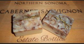 Bay Rum Swirl Kinder Goat Milk Soap