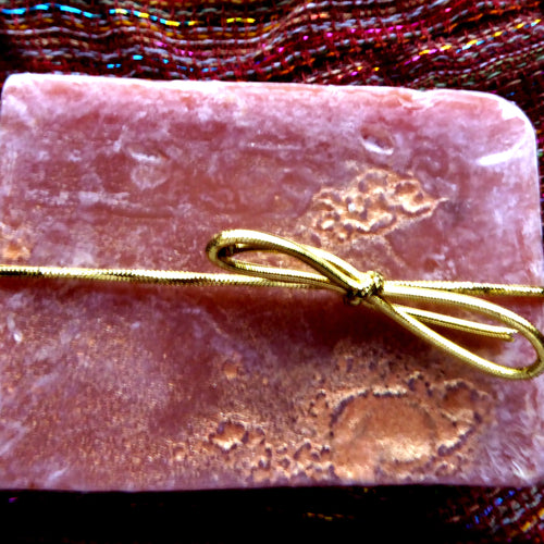 Golden Sunset with Moroccan Clay Kinder Goat Milk Soap