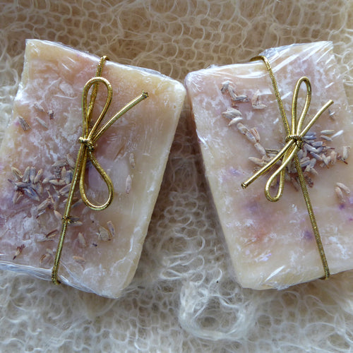 Lavender and Wintergreen Kinder Goat Milk Soap