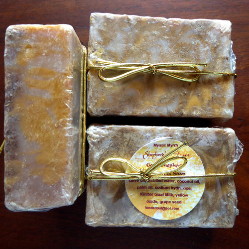 Mystic Myrrh Kinder Goat Milk Soap