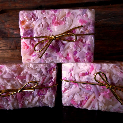 Black Raspberry and Vanilla Kinder Goat Milk Soap