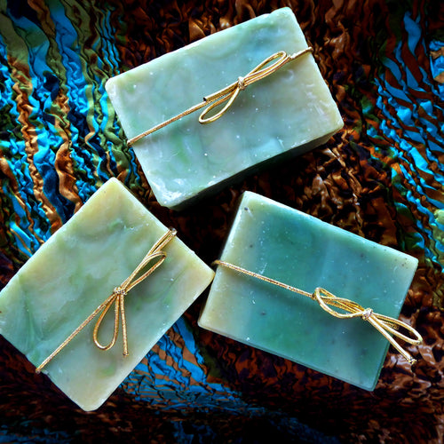 Sage Swirl Kinder Goat Milk Soap