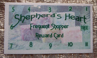 Free Frequent Shopper Card