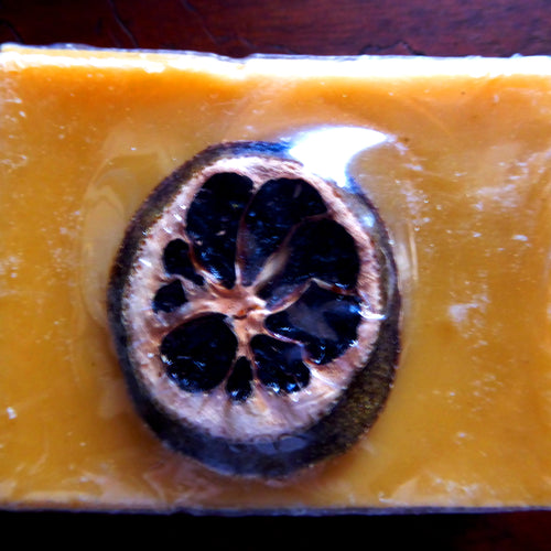 Citrus Blend with Orange Kinder Goat Milk Soap