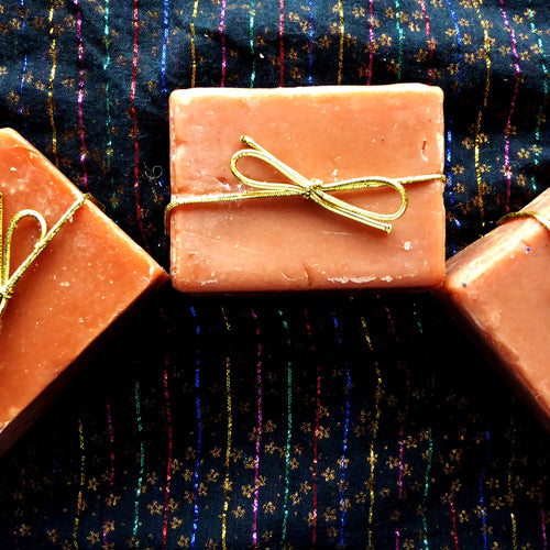Spicy with Moroccan Clay Kinder Goat Milk Soap