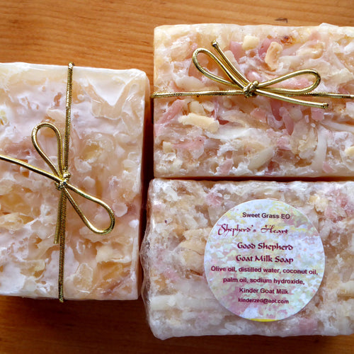 Sweetgrass Kinder Goat Milk Soap