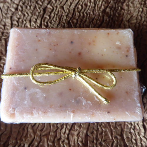 Vanilla with Crushed Grapeseed Kinder Goat Milk Soap