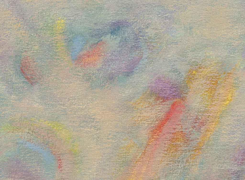 Modern Abstract Impressionist Colorful Painting Giclée Print Crop 3