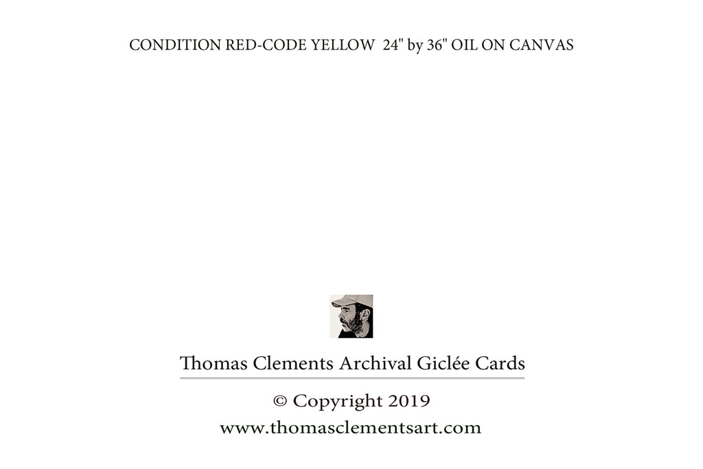 CONDITION RED-CODE YELLOW