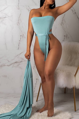The New Silk Set with cover up