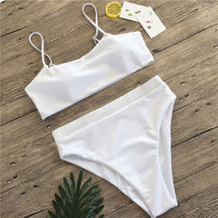 High Waist Bikini New Ladies Swimwear