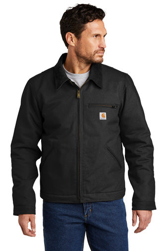 Carhartt Duck Detroit Jacket in Black