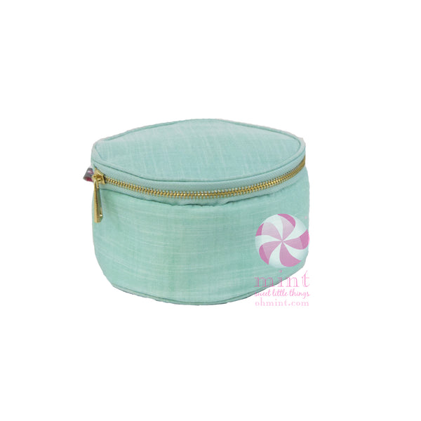 Mermaid Chambray Button Bag