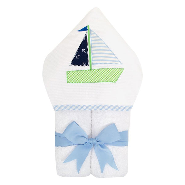 Blue Sailboat Everykid Towel