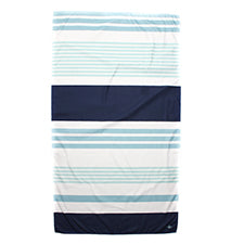 Microfiber Beach Towel - Navy and Sky