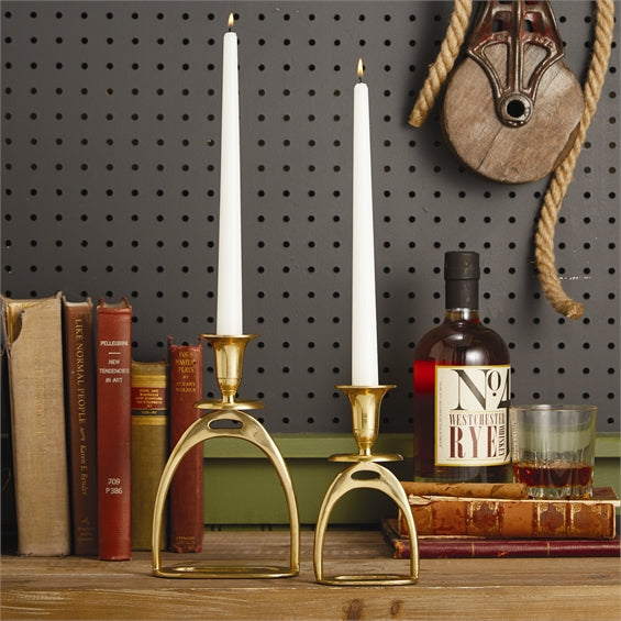 Stirrup Candle Holder ( 2 Sizes )