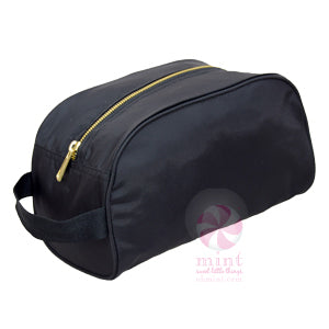 Seersucker Makeup Bag
