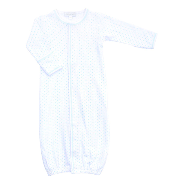 Magnolia Baby Blue Mini Dot Converter Gown