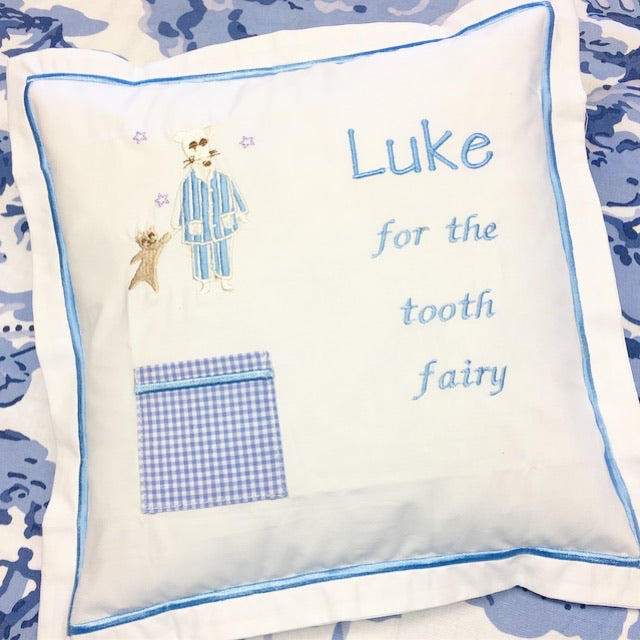 Tooth Fairy Pillow Mouse Saddlestitches