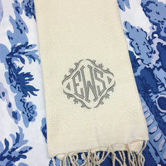 Fouta Guest Towel - Ivory