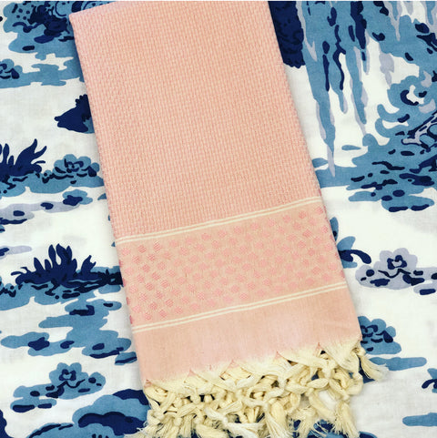 Pink Dot Turkish Towel