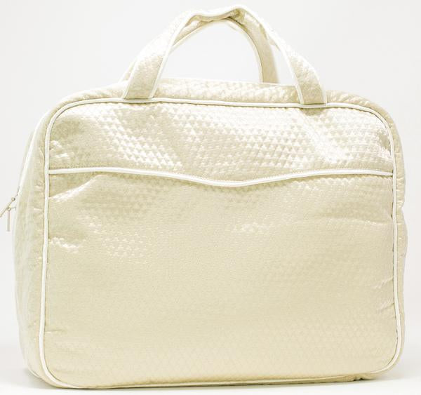 Quilted Weekender Travel Bag
