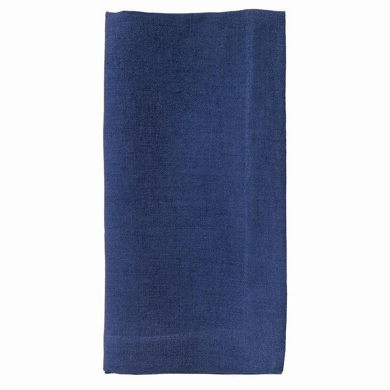 Linen Napkins in Navy