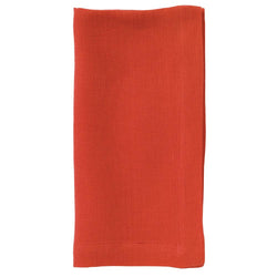 Linen Napkins in Persimmon