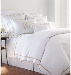 Scalloped Bedding Collection