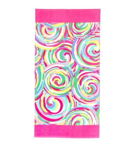 Summer Swirl Beach Towel