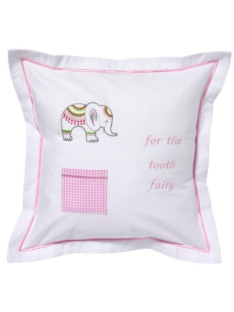 Tooth Fairy Pillow - Pink Elephant
