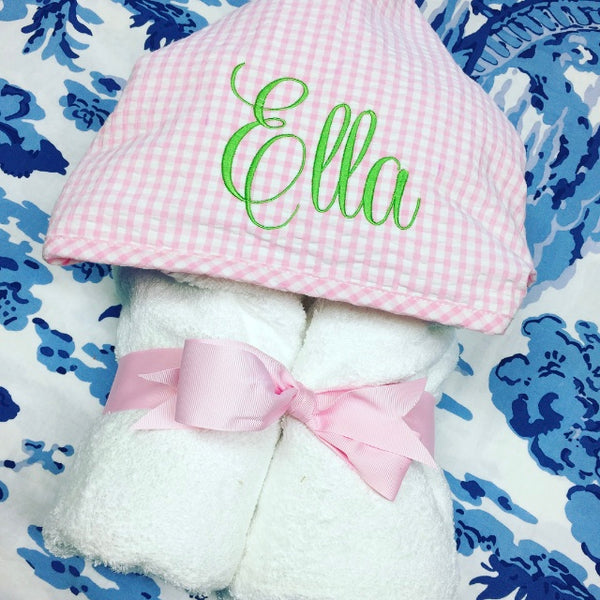 Everykid Towel - Pink Gingham