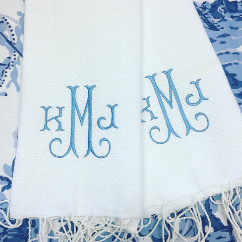 Fouta Guest Towel - White