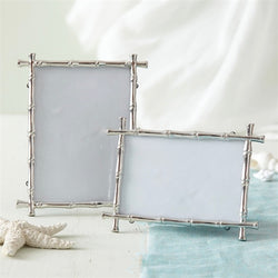 Silver Bamboo Picture Frames